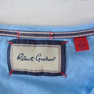 Robert Graham Shirts - Robert Graham 3XL Tailored Slim Fit L/S T-Shirt